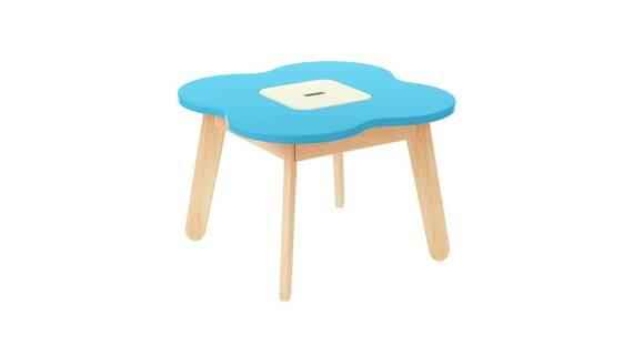 Kindertisch mit Stauraum Marine (1)