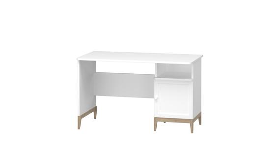 Schreibtisch Beta mit Schränkchen (1)