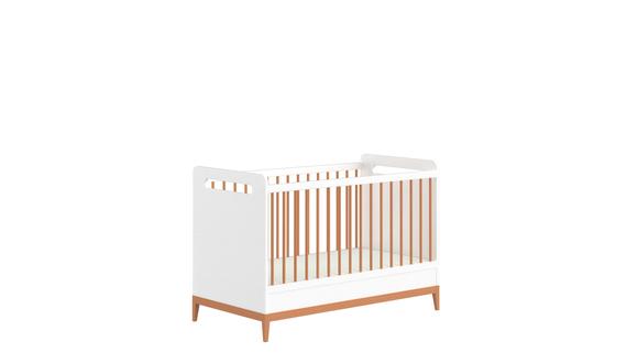 Weißes Babybett Beta (1)