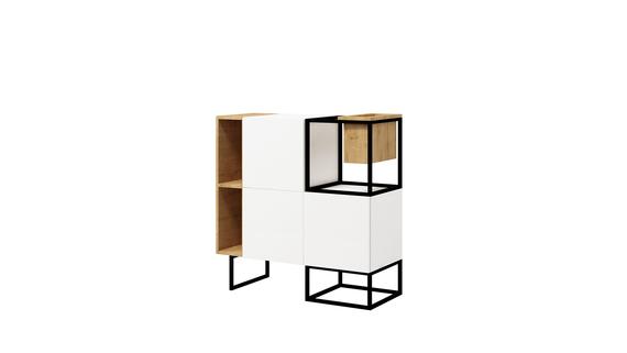 Box Kommode mit Schrank - Box Steel B (1)