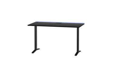 Gaming Tisch Graphit mit Höhenverstellung