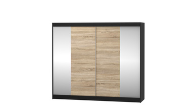 Schrank Ebro mit Spiegel 233 cm